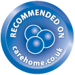 recommended on carehome.co.uk logo